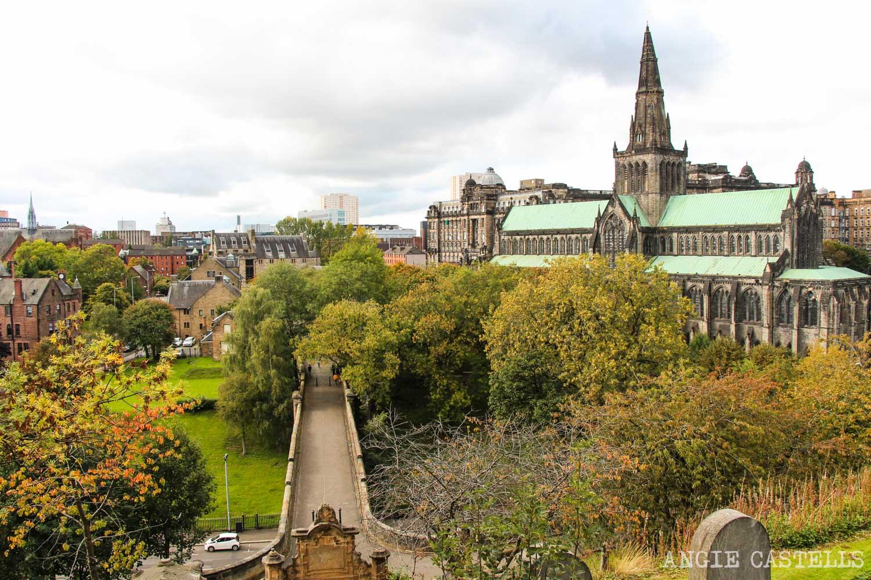 Visitar el cementerio Glasgow Necropolis