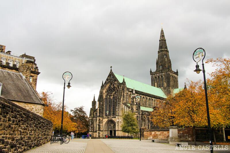 La Glasgow Cathedral, escenario de Outlander