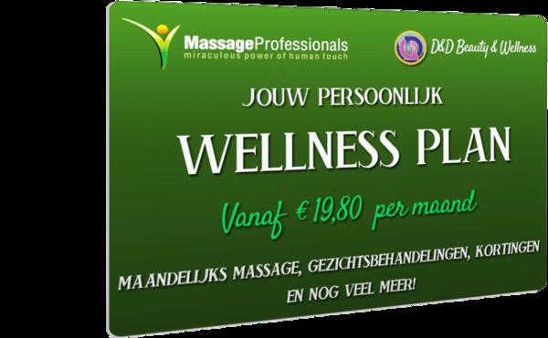 Massage abonnement Almelo €59,20