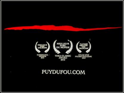 Publicité Puy du Fou