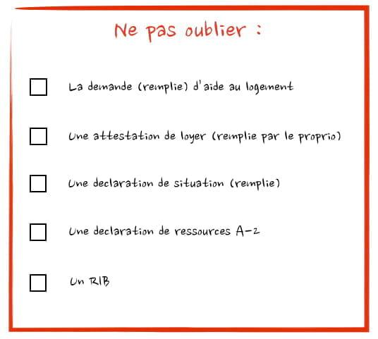 Dossier Pour La Caf Etudiant