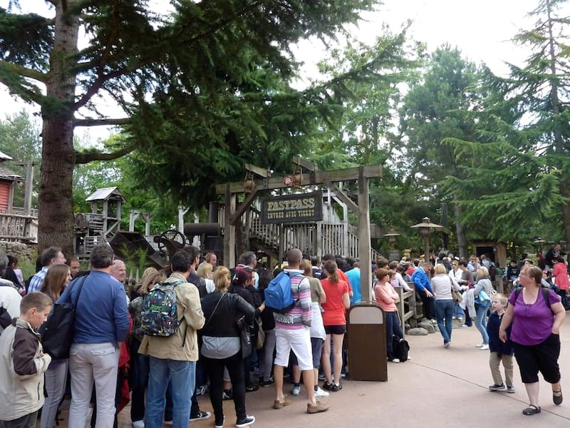 Fastpass Disneyland Paris