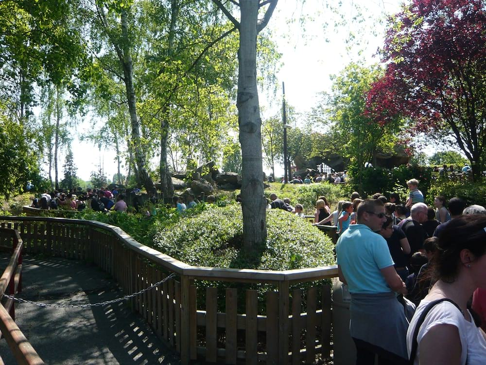 Queue au Parc Astérix