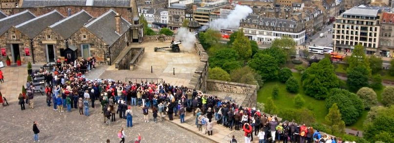 Edinburgh Castle 1 o'clock Gun