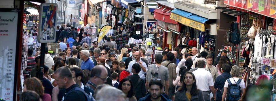 Monmartre crowds