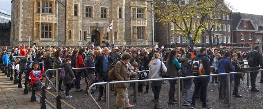 Tower of London queue