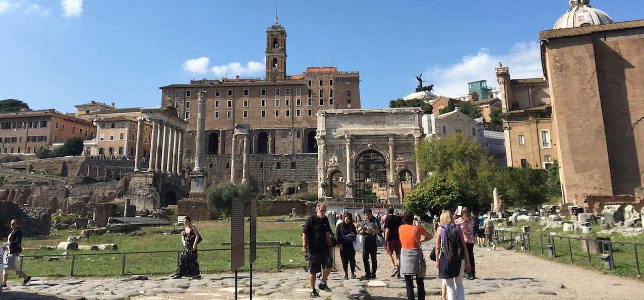 Palatine and Forum