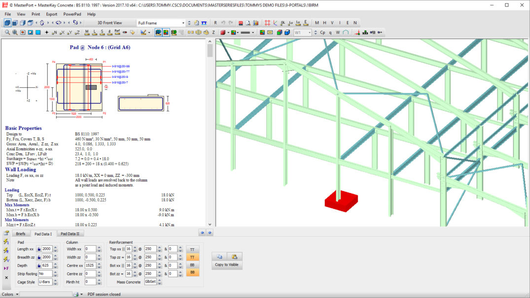 MasterSeries | Concrete Design Software |Structural Engineering…