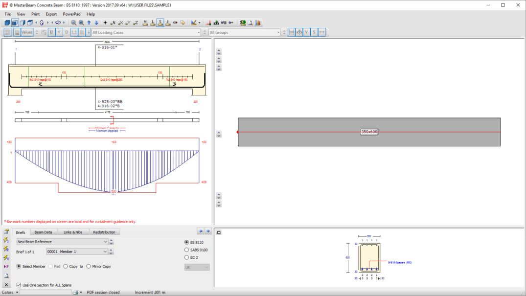 MasterSeries | Free Concrete Beam Software | Structural