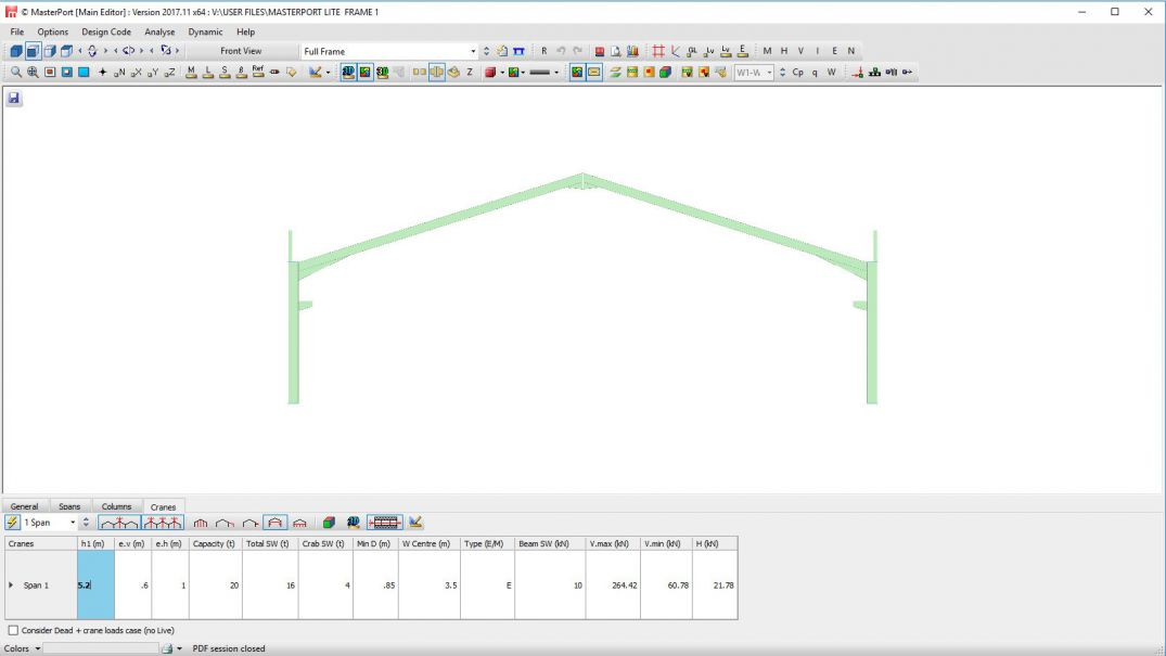 MasterPort Lite | Structural Engineering Software | MasterSeries