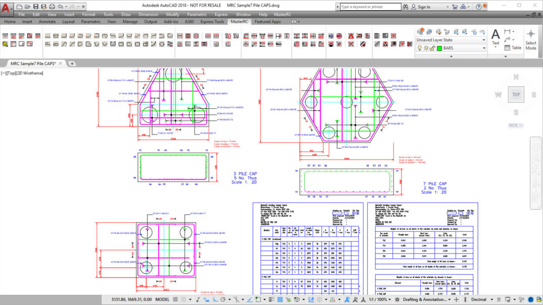 Masterseries Pile Cap Design Software Structural Design Software