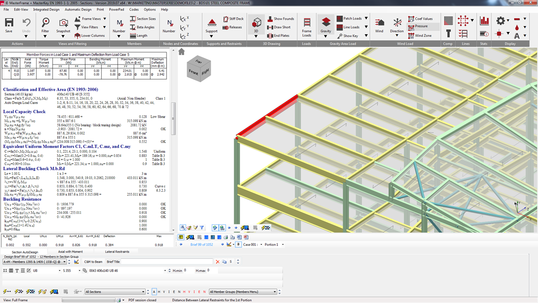 Masterseries Steel Design Software Structural Engineering Software