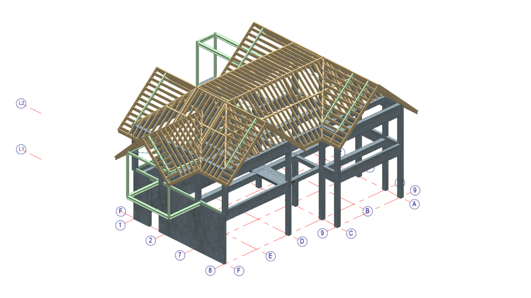 Timber Design Multi Material Environment