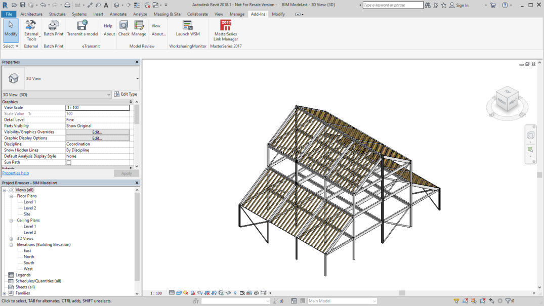 MasterSeries | MasterCAD: BIM Integration | Structural