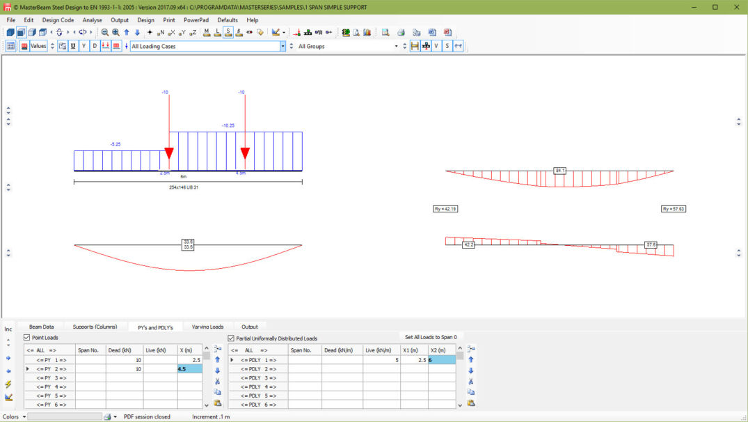 Masterseries Free Steel Beam Design Software Structural