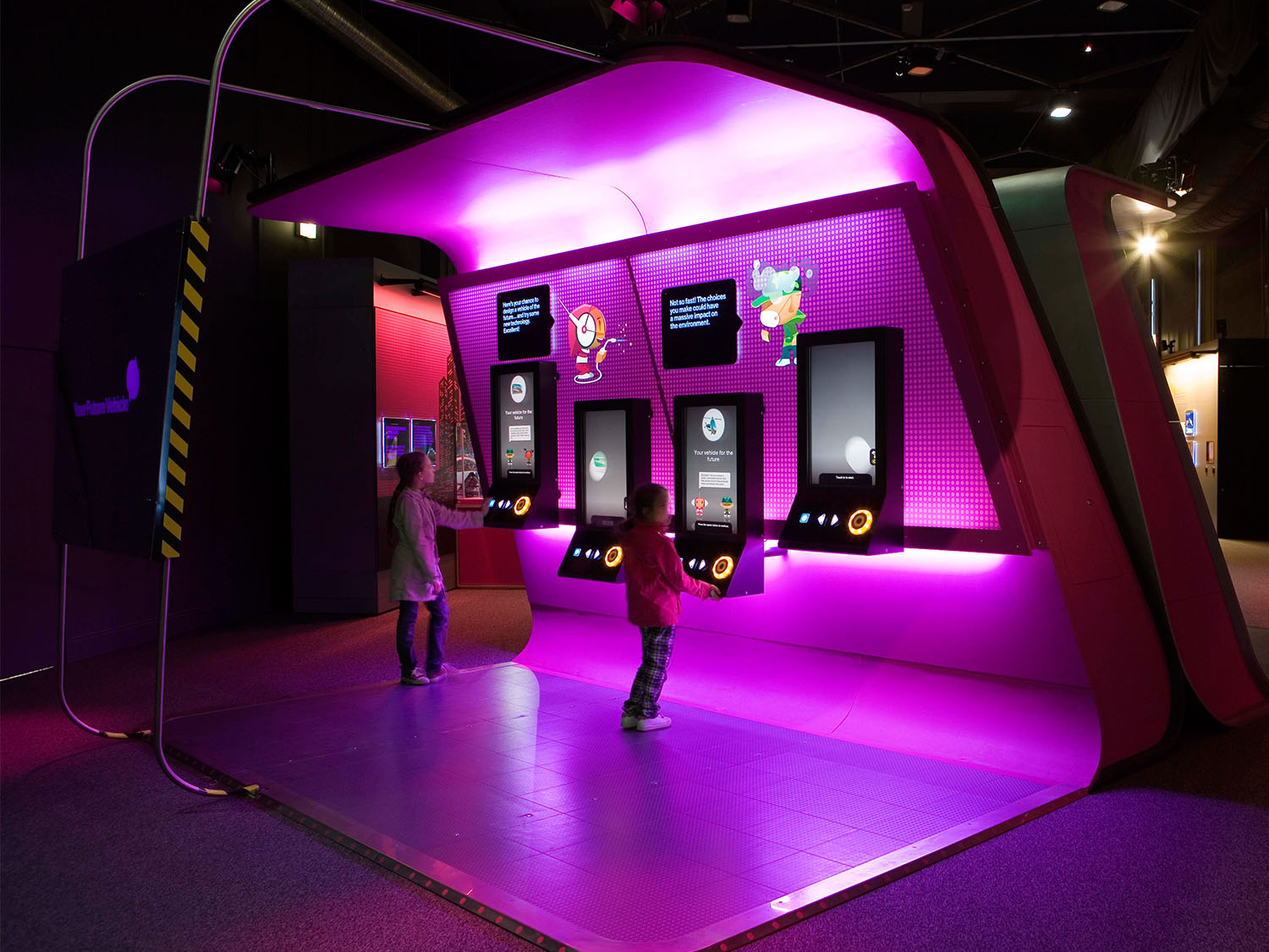 Science of Survival Interactive Exhibition