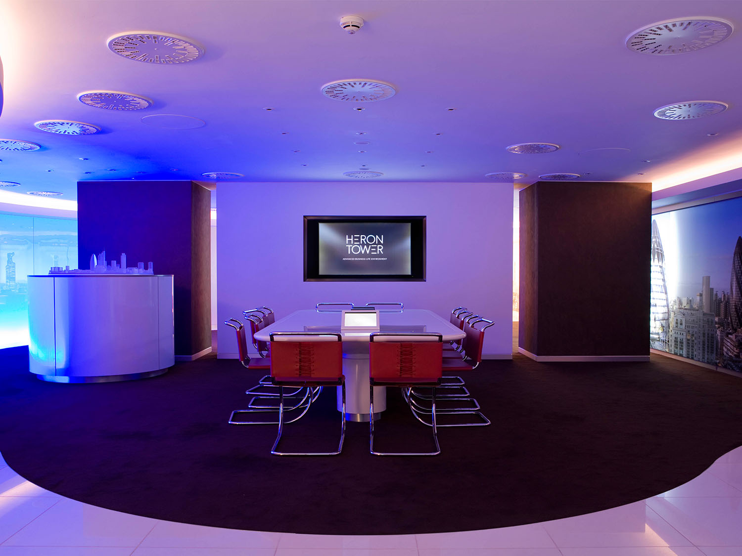 Heron Tower Show Suite