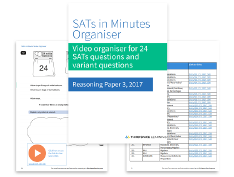 Sa Ts In Minutes Video Organiser: Paper 3, 2017 | Maths Hub | Third ...