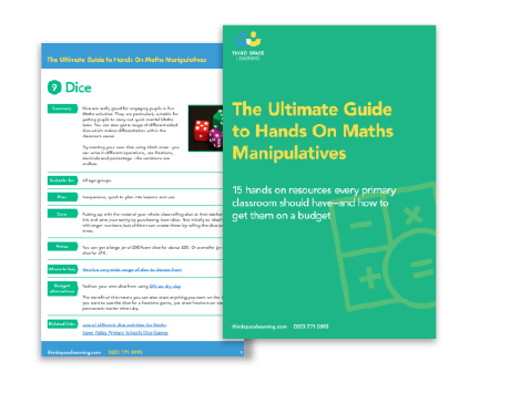 The Ultimate Guide To Maths Manipulatives | Maths Hub | Third Space ...