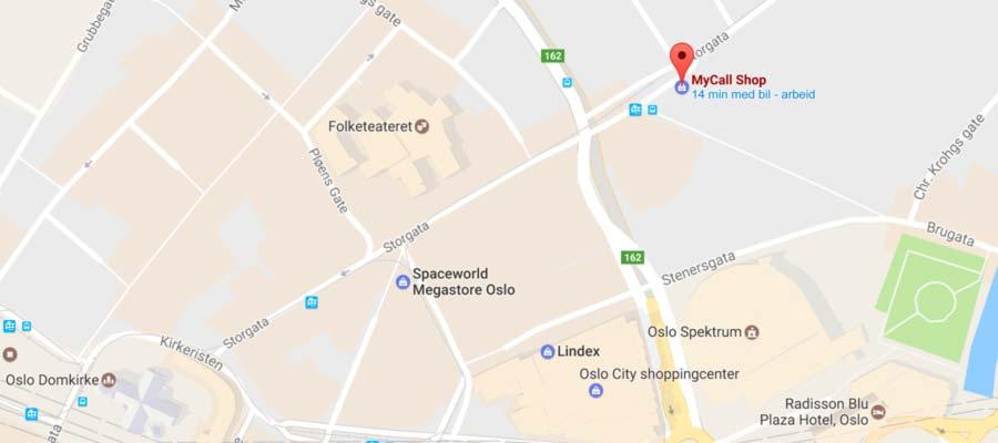 Visit MyCall Shop at Brugata 1, Oslo