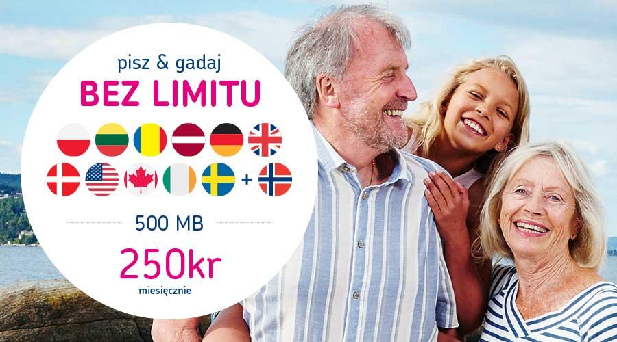 BeFree 500 MB mobilabonnement