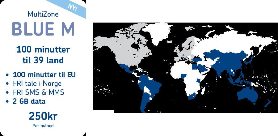 MyCall MultiZone BLUE M