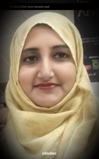 Dr. Sobia Zafar (Gynecologist, Obstetrician) Lahore