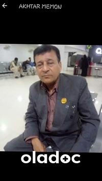 Dr. Akhtar Memon (Internal Medicine Specialist, Urologist, General Physician) Karachi