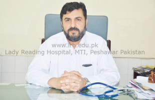 Top Pediatrician Peshawar Assist. Prof. Dr. Amir Muhammad