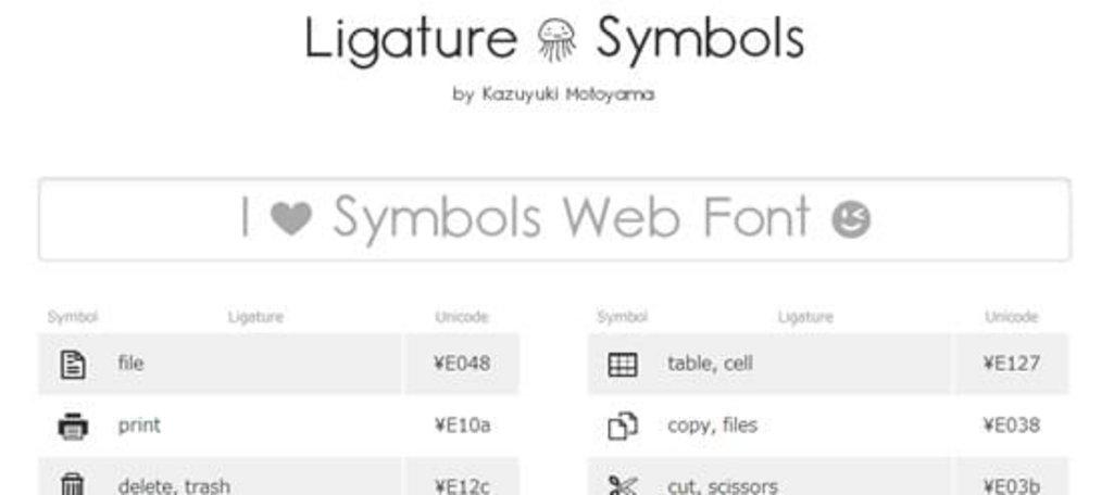 02-Ligature-Symbols
