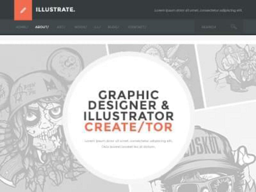33-flat-design-template