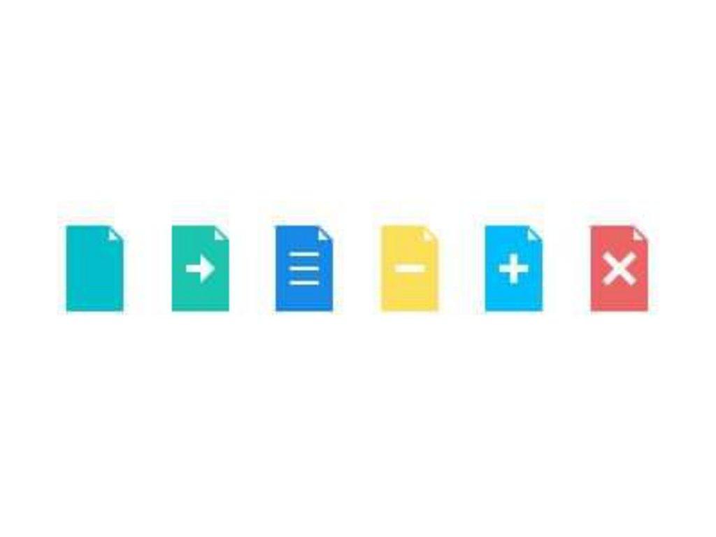 48-flat-documents-icons