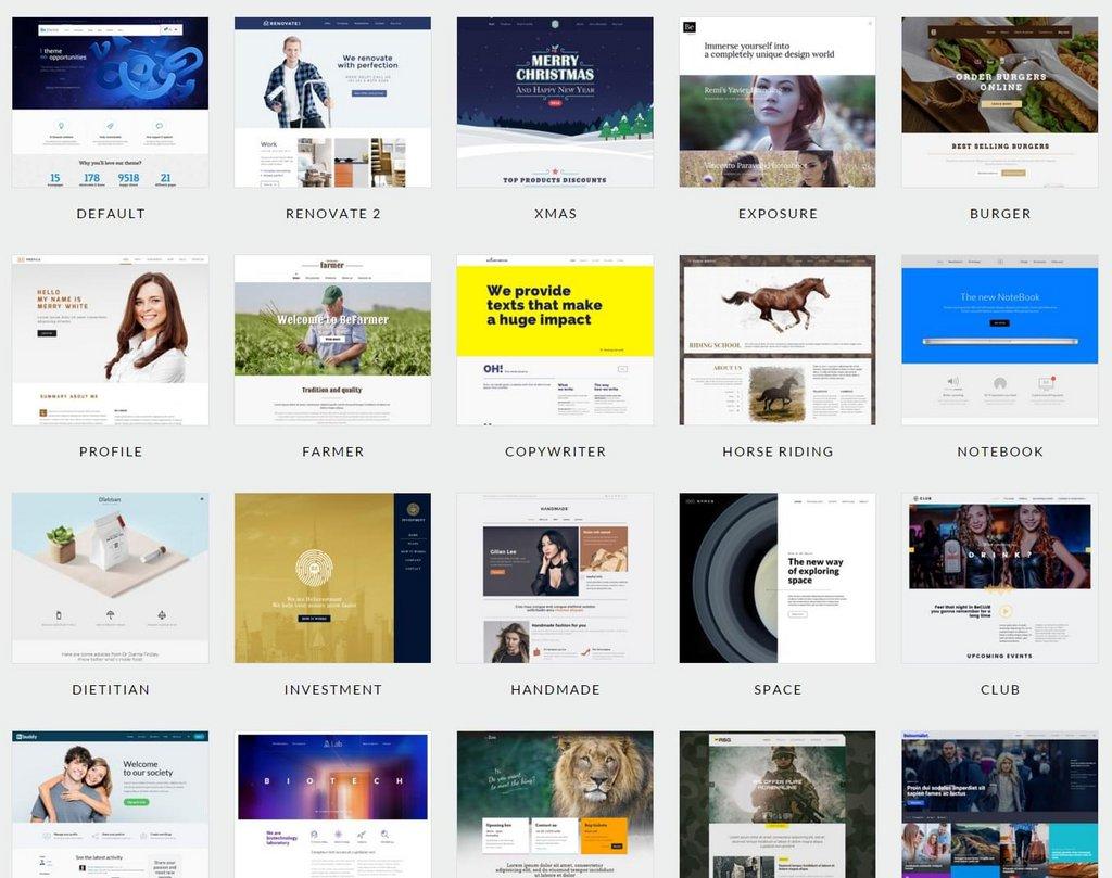 Be –Thème WordPress-2