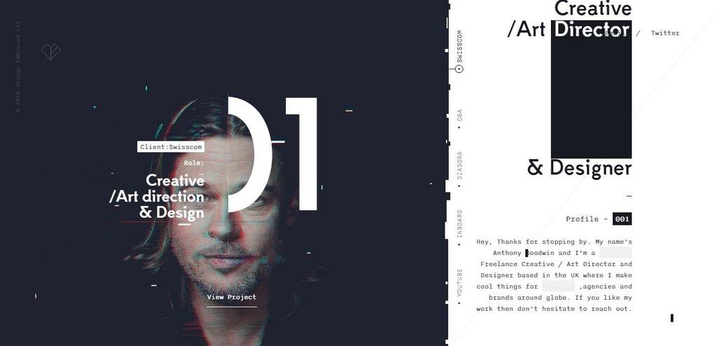Design Embraced - Anthony Goodwin   Web Design Inspiration – PORTFOLIO