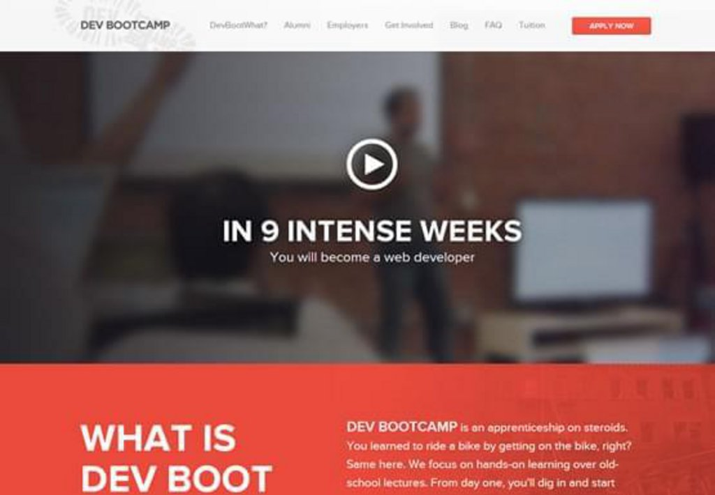 Dev-Bootcamp-exemple-landing-page