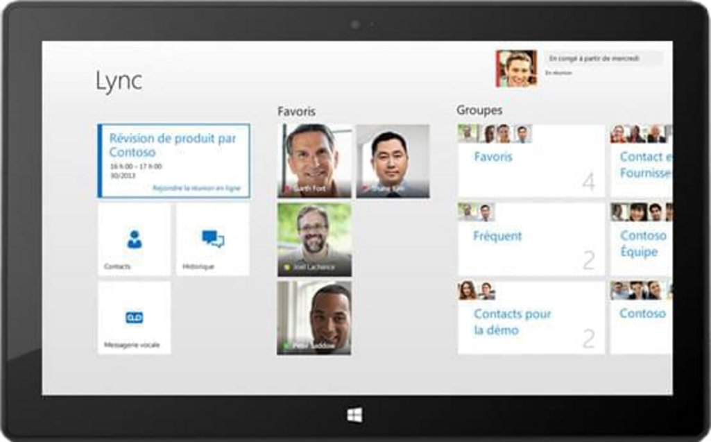 Flat design Microsoft Surface