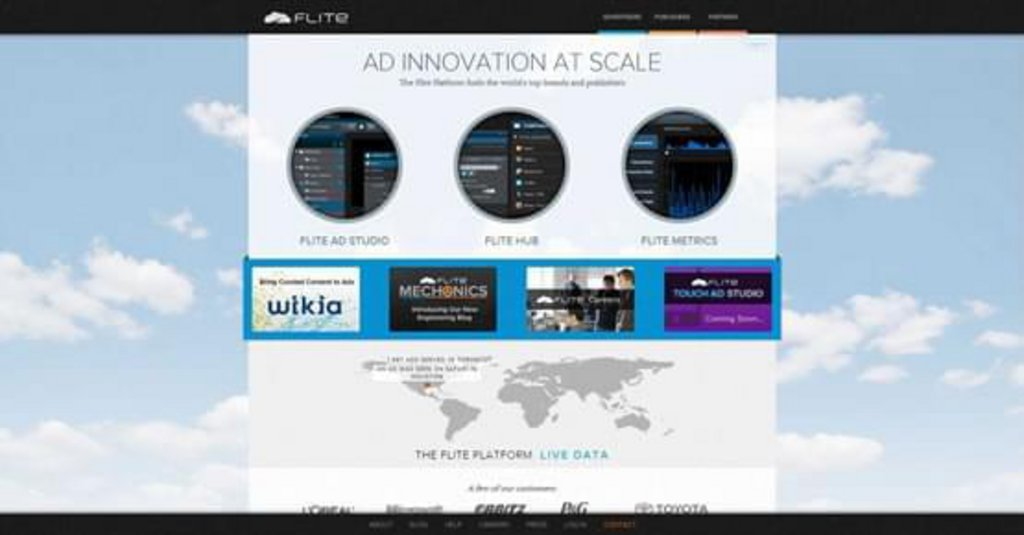 Flite — Ad Innovation at Scale