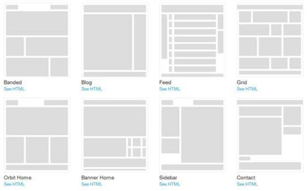Foundation 31 Les Templates Html Sont Arrivs Magazine Du Webdesign