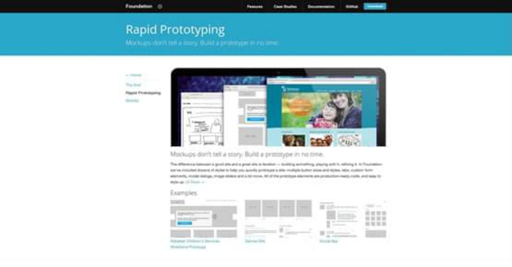 Foundation Rapid Prototyping