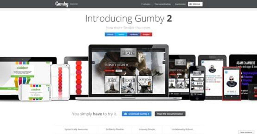 Gumby-Responsive-CSS-Framework