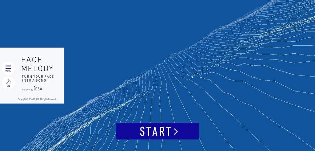 IPSA FACE MELODY   Web Design Inspiration – EXPERIENCE INTERACTIVE