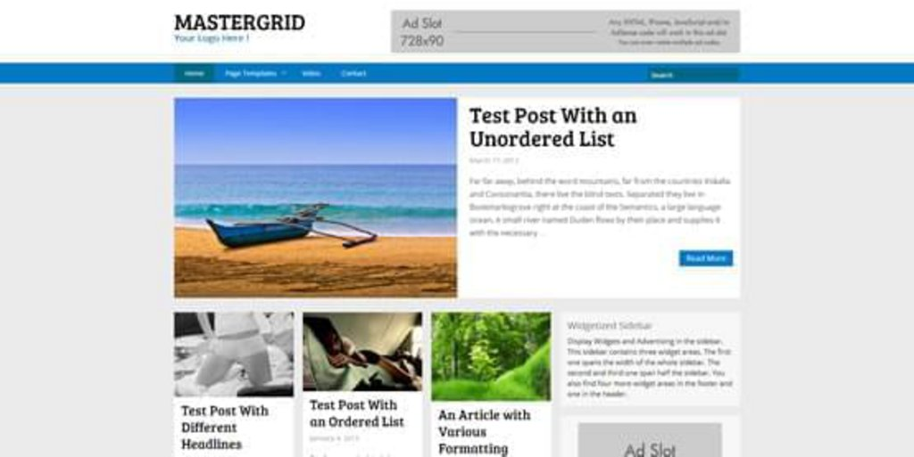 MasterGrid-theme-WordPress