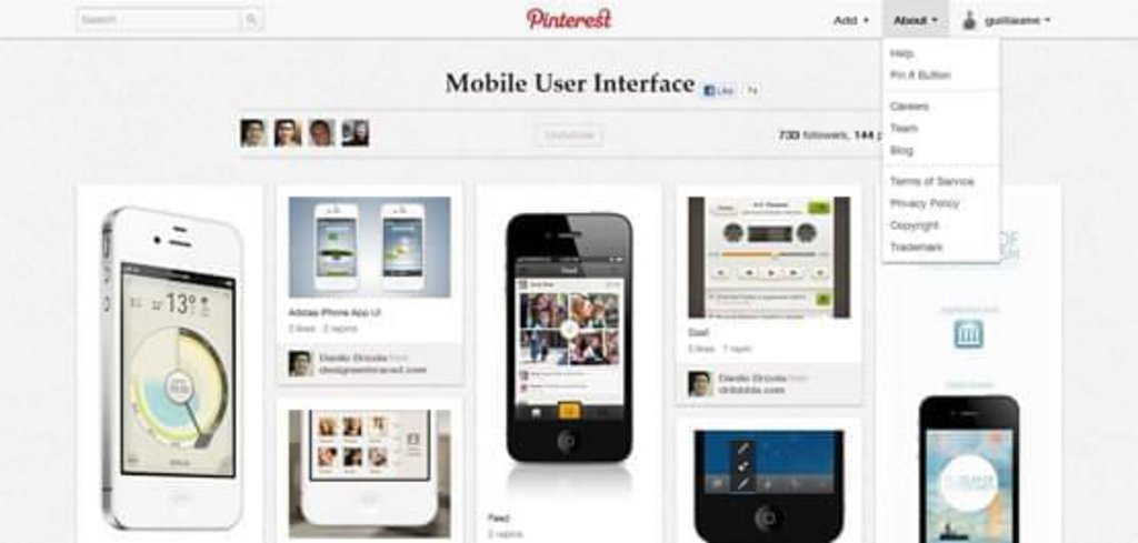 Mobile-User-Interface