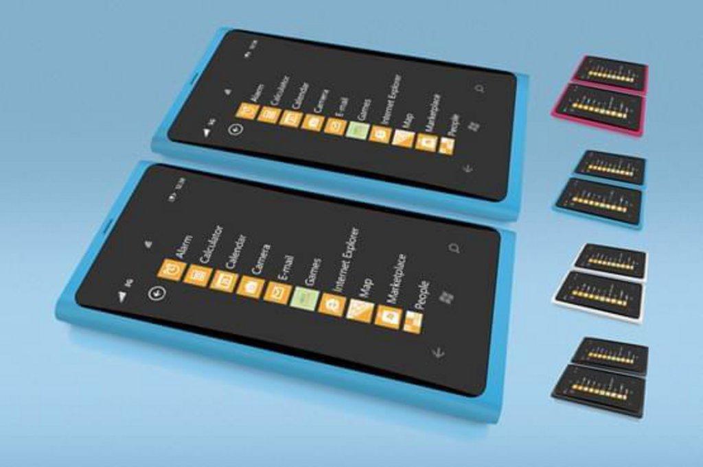 Mockup Nokia Lumia