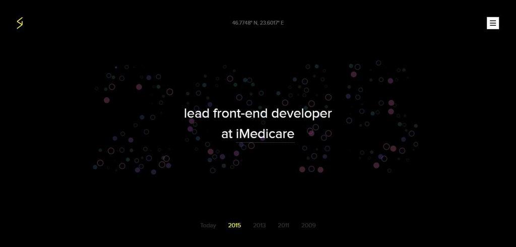 Stefan — Creative developer   Web Design Inspiration – PORTFOLIO