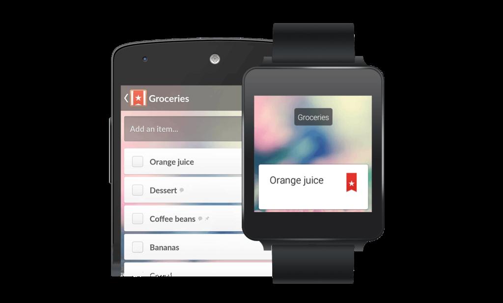 Wunderlist – Android Wear-1
