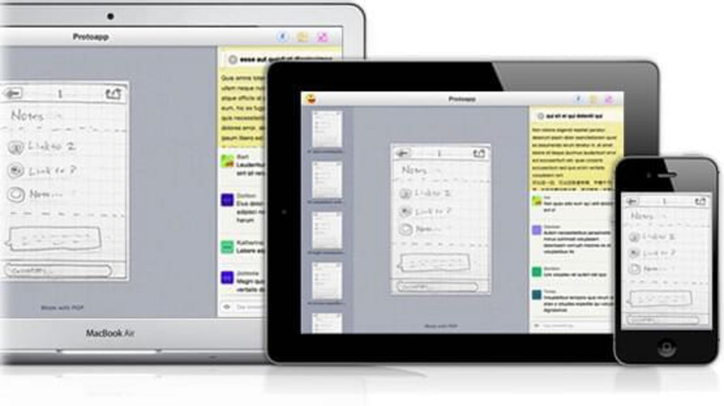 Application POP - partager et échanger sur le prototype