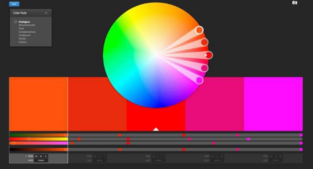 10 . Adobe Color CC