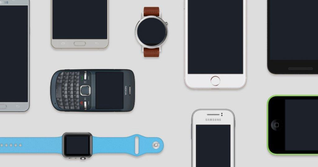 Mockups devices mobile, tablette, ordinateur & TV – Facebook Design-1