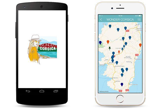 Wonder Corsica App iOS
